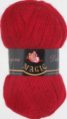 Пряжа Angora Delicate Magic 1125 Красный - купить в интернет-магазине недорого klubokshop.ru