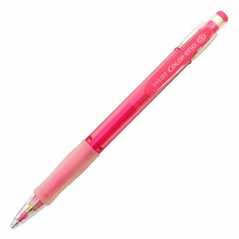 Цветной механический карандаш Pilot Color Eno - 0,7 мм - розовый грифель
