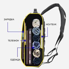 Рюкзак-трансформер BOPAI 751-006551 чёрный