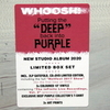 Deep Purple / Whoosh! (Limited Edition Box Set)(Coloured Vinyl)(2LP+CD+DVD+3x10