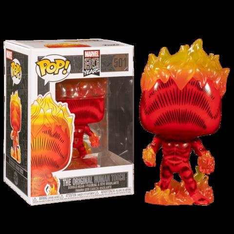 Marvel 80th The Original Human Torch Funko Pop! Vinyl Figure || Человек-факел
