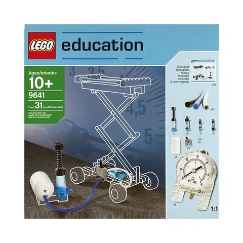 LEGO Education: Набор «Пневматика» 9641 — Pneumatics Add-On Set — Лего Эдукейшн Образование