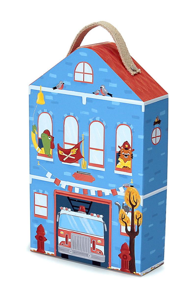 Игровой набор Krooom Пожарная станция капитана Фьюри