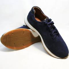 Сникерсы кроссовки мужские Faber 1957134-7 Blue