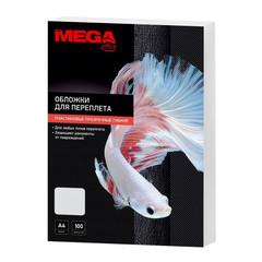 Обложки для переплета пластиковые Promega office А4 180 мкм прозрачные глянцевые (100 штук в упаковке)