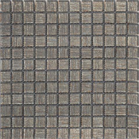 Мозаика стеклянная Bronze Satin 23x23x4 298х298