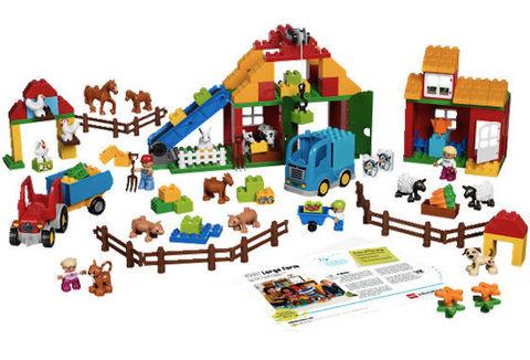LEGO Education: Большая Ферма 45007 — Large Farm — Лего Образование