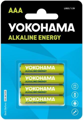 Батарейки Yokohama Energy LR03, AAA (4/48) BL