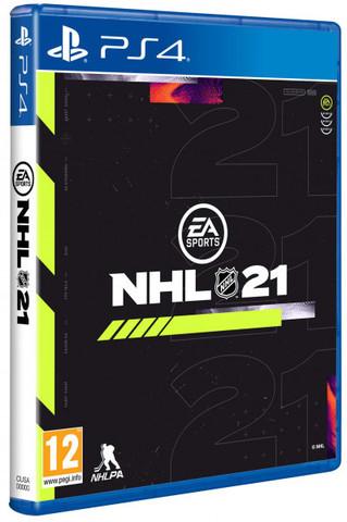 PS4 NHL 21 (русские субтитры)