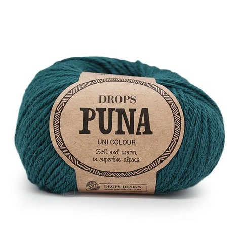 Пряжа Drops Puna 15 морская волна