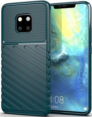 Чехол Huawei Mate 20 Pro (Mate20 RS) цвет Green (зеленый), серия Onyx, Caseport