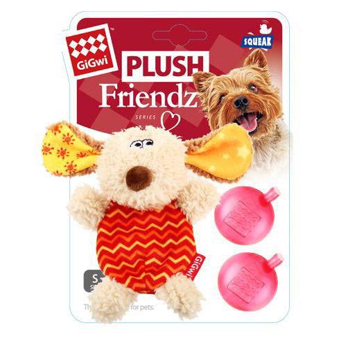 75304 Игрушка для собак Собачка с двумя пищалками