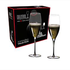 Набор из 2-х бокалов для шампанского Riedel Vintage Champagne Glass, Sommeliers Value Pack, 330 мл, фото 2