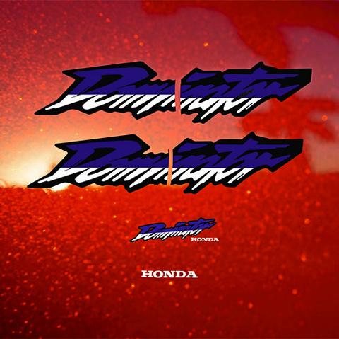 Набор виниловых наклеек на мотоцикл HONDA NX 650 DOMINATOR 2001