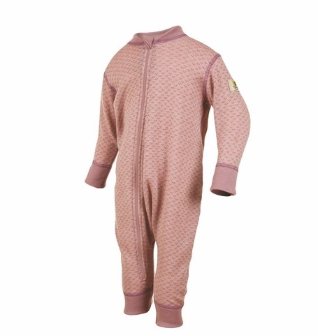 Janus, Комбинезон на молнии Baby wool, светло-лиловый
