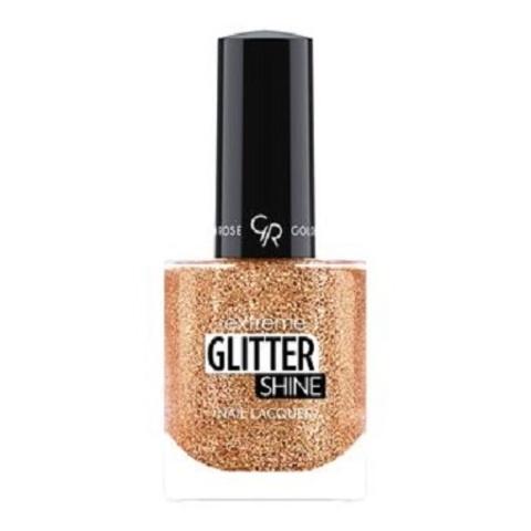 Гель-лак Glitter Shine Nail Lacquer Golden Rose, 206