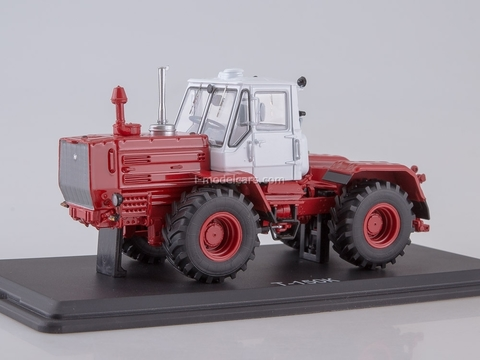 Tractor T-150K white-red 1:43 Start Scale Models (SSM)
