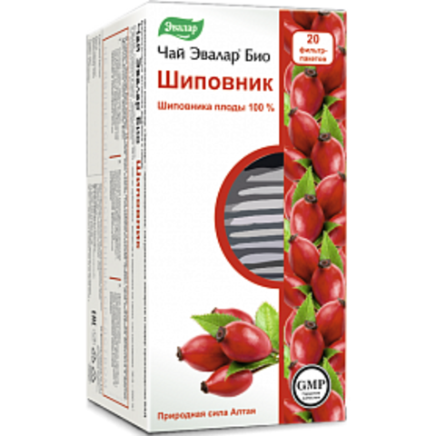 Эвалар БИО чай Шиповник 20 ф/п