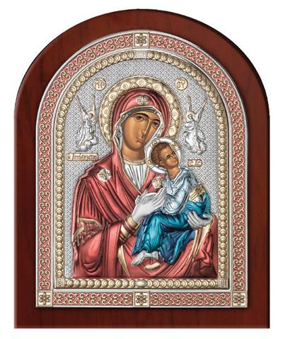 Серебряная икона Божья Страстная (эксклюзивная рамка)