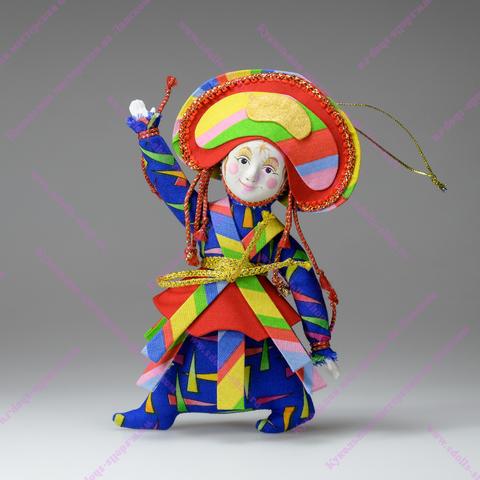 Кукла в маске подвесная