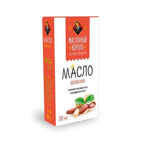Арахисовое масло холодного отжима 100мл  (Масляный Король)