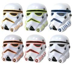 Звездные войны маска Штурмовика с неоновой подсветкой