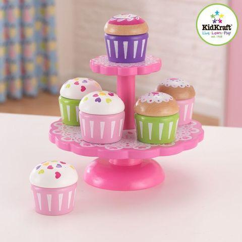"""Игровой набор для детской кухни """"Капкейки"""""""