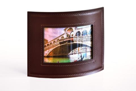Рамка для фотографий BUVARDO PREMIUM из кожи  Full Grain Brown/Cuoietto черный