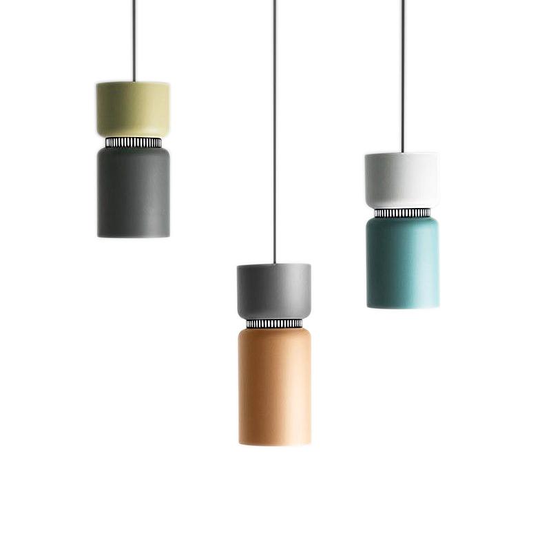 Подвесной светильник копия ASPEN S40 by B.Lux (белый+зеленый)