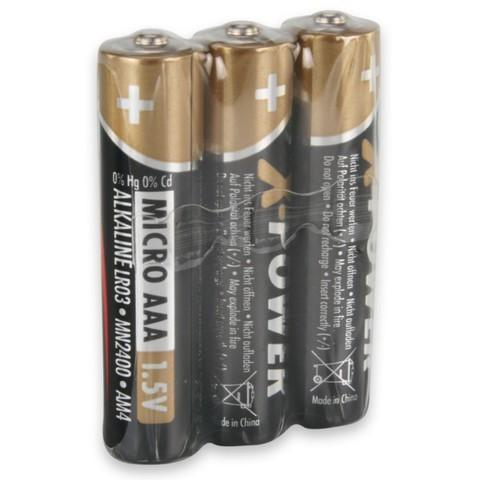 Батарейка X-POWER ААА/ANSMANN 1.5V - 3 шт в пленке