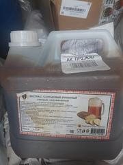 Ячменно-солодовый экстракт (концентрат) неохмеленный тёмный, канистра 4 кг