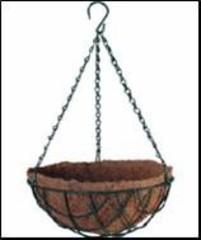 Кашпо коковита подвесное сфера