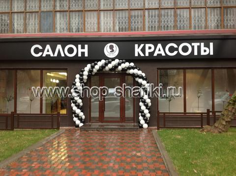 гирлянда из воздушных шаров или арка из шаров www.shop-shariki.ru