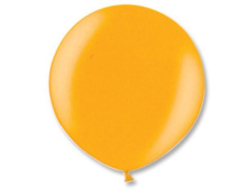 Большой шар металлик золотой