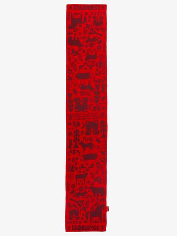 Красная Горка – бордовые тона № 6.3 (Без бахромы)