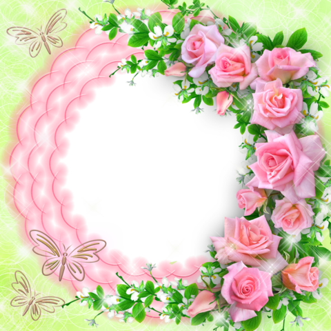 Печать на вафельной бумаге, Цветы 3