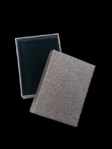 Подарочная коробка черное серебро