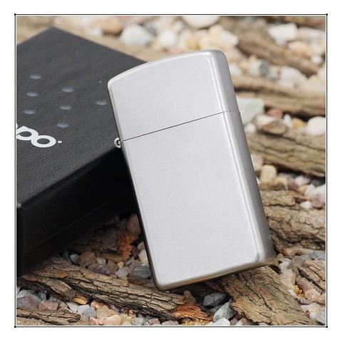 Зажигалка ZIPPO 1605 Satin Chrome Slim