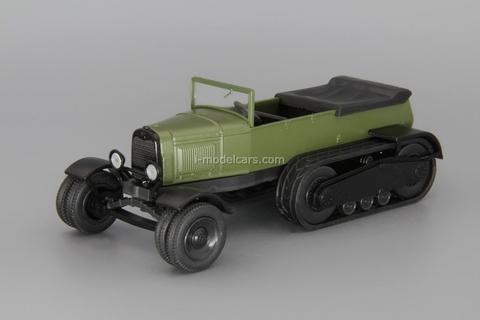NATI-2 half-track ATV khaki 1:43 DeAgostini Auto Legends USSR #233