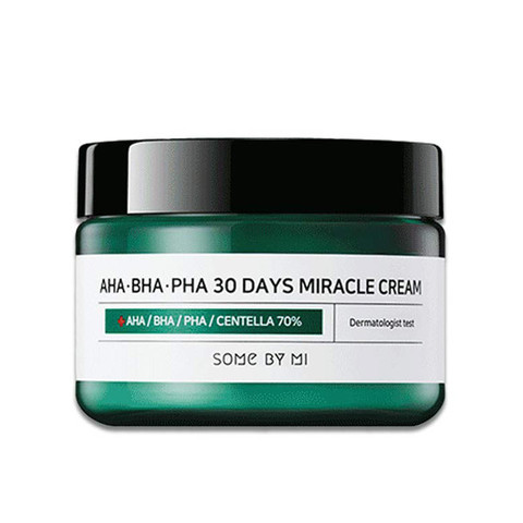 Купить Some By Mi AHA-BHA-PHA 30 Days Miracle Cream - Крем для проблемной кожи с AHA BHA PHA кислотами