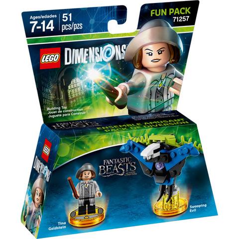 LEGO Dimensions: Fun Pack: Тина Голдштайн 71257 — Tina Goldstein — Лего Измерения