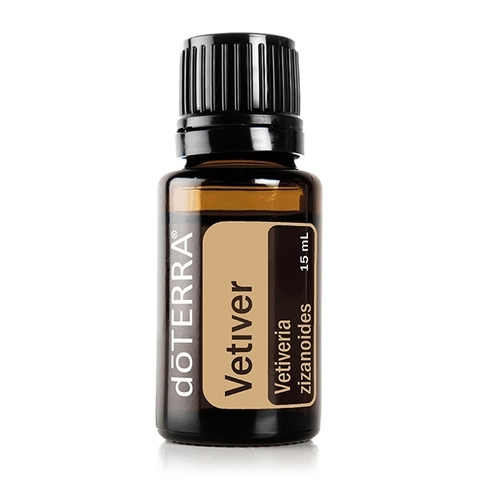 Ветивер (Vetiveria zizanioides), эфирное масло, 15 мл / VETIVER ESSENTIAL OIL