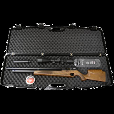 Кейс оружейный АTAMAN  118*35*11 с клипсами, черный