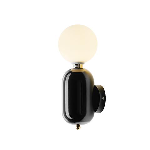 Настенный светильник Aballs by Parachilna (черный)