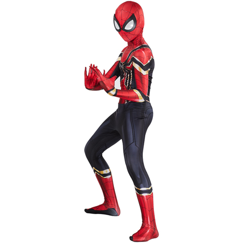 Мстители костюм детский Железный Человек Паук