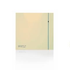 Вентилятор накладной S&P Silent 100 CRZ Design 4С Ivory (таймер)