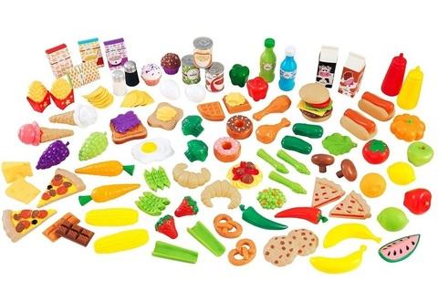 """Набор еды """"Вкусное удовольствие"""", 115 элементов"""