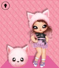 Кукла Na! Na! Na! Surprise Розовая кошечка Katherine Whiskers 2 серия