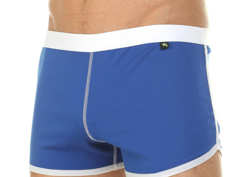 Мужские шорты домашние светло-синие Van Baam 39847
