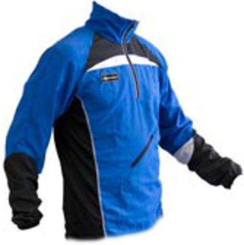 Детская куртка для бега Noname Training jacket черная с синим